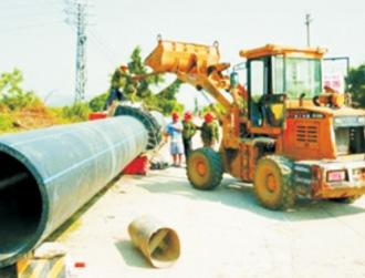 内蒙乌海市市政供水工程