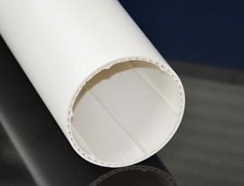 兰州PVC-U聚氯乙烯螺旋消音管系列