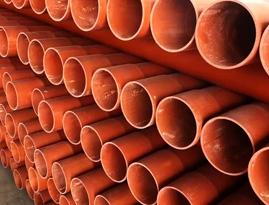 地埋式电力电缆C-PVC套管